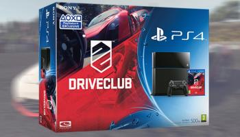 A PS4 Driveclub Bundle And Thrustmaster Steering Wheel Read Below